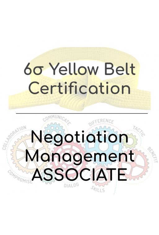 PACK: Negotiation Associate + Six Sigma Yellow Belt