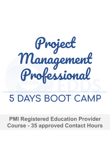 5 Day PMP Exam Prep Boot Camp.