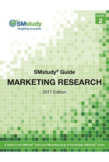 Marketing Research Guide Book, 2017.